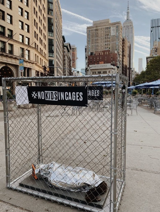 No Kids In Cages photo, NYC