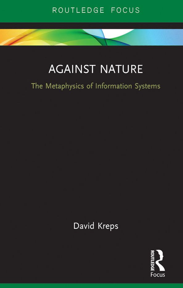 David Kreps book cover: Against Nature